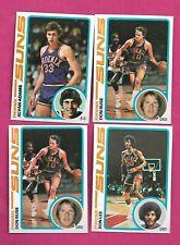 1978-79 TOPPS BASKETBALL PHOENIX SUNS NRMT-MT  CARD LOT (INV# C3436)