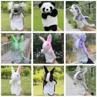 Hand Puppets Cutes Cartoon Animal Doll Kids Glove Puppet Soft Plush BABY Toys