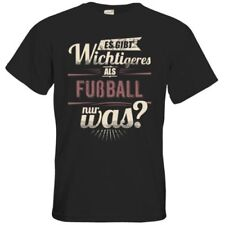 Fußball unifarbene Herren-T-Shirts aus Baumwolle