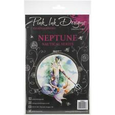 Pink Ink Designs - A5 Clear Stamp Neptune