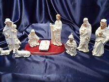 Crown Accents 10 Piece Nativity Set with Base World Bazaars