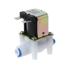 Electric Solenoid Valve For Water Purifier Refrigerator  Normally Closed DC 12V