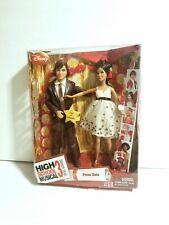High School Musical Gabriella & Troy Prom Date Dolls Disney RARE New In Box Lot