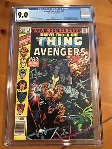 Marvel Two-In-One #75 Thing and the The Avengers Double Sized Classic CGC 9.0