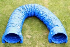 Profi Dog Agility Tunnel, 60cmØ, 5m Agilitytunnel (FCI) blau orig. Callieway®