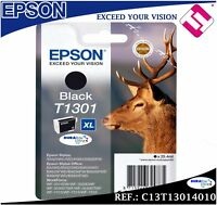 TINTA NEGRA ORIGINAL T1301 CARTUCHO NEGRO IMPRESORA EPSON OFFICE WORKFORCE WF