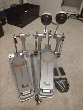 Pearl P932 Longboard Double Bass Drum Pedal with carrying case