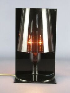 Kartell Vintage Table Lamp Model Take Smoke' Design Italian