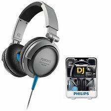 Philips GENUINE SHL3200 Headphones DJ Monitor Style High Impact Bass -NEW Sealed