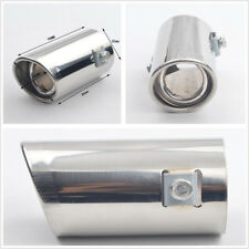 Car SUV Exhaust Muffler Stainless Steel Pipe Tail Throat Liner Bevel Accessories