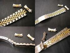 10k karat gold 20mm jubilee watch band for oyster automatic rolex