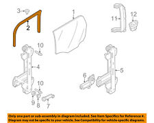 FORD OEM 00-04 Focus Glass-Rear Door-Upper Channel Right YS4Z7425766CA