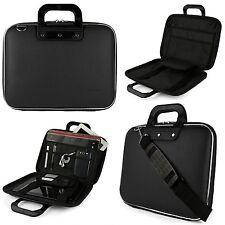 """Black Hybrid Portfolio Tablet Case Messenger Bag For Microsoft Surface 3 10.8"""""""