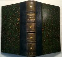 1903 ANATOLE FRANCE L'ETUI DE NACRE *JOLIE RELIURE MAROQUIN* LIVRE BOOK HISTOIRE