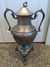 Vintage Antique Victorian Silver Plate Coffee Urn