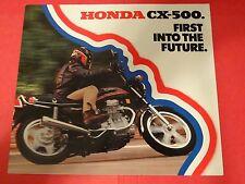 1978 Honda CX500 Motorcycle Sales Brochure - Literature