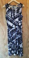 ATTITUDES By Renee Women's Maxi Dress Sleeveless Round Neck Stretch. Size M/P