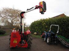 Compact tractor hedge cutter trimmer flail mower for Kubota, Iseki, Yanmar etc.