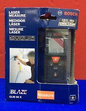 Bosch Blaze Glm 40x Laser Measure Range 135 40m Accuracy 116 15mm