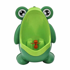 HOT Frog Kids Potty Toilet Training Baby Urinal Boy Pee Trainer Bathroom  for