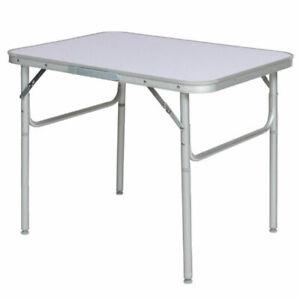 Tavolino pieghevole da campeggio in alluminio 75x55x60cm Camp Active