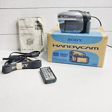 Sony Handycam DCR-DVD203 Camcorder 12x Optical Zoom