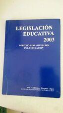 leglislazciom educativa 2003