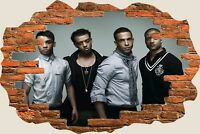 3D Hole in Wall Jls View Wall Stickers Film Mural Art Decal Wallpaper 41
