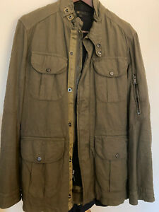 Ralph Lauren Black Label Military Jacket M Made in Italy!