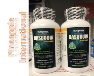 Lot Of 2 Nutramax Dasuquin With MSM for Small to Medium Dogs 168 Tablets