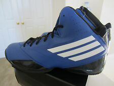 Adidas 3 Series Black/Blue 2014 Mens Basketball Shoes Sneakers C75732 Size 13