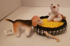 Only Hearts Club Doll pets dog puppy dog bed rope toy plush Diorama Barbie
