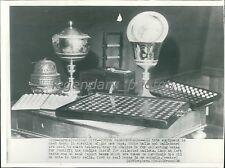 1939 Pope Election Voting Equipment Original Wirephoto