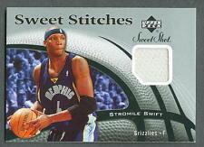 Stromile Swift 2006-07 UD NBA Sweet Shot Stitches Jersey