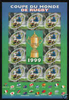 TIMBRE FRANCE BLOC N° 26 ** coupe du monde rugby 1999