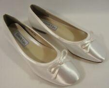 NEW Benjamin Walk Touch Ups Roslyn Flat  Bridal Dress Shoe #646W  Size: 8.5W