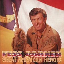 Great American Heroes by Fess Parker (CD, Sep-1996, Bear Family Records...