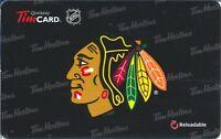 2012 Tim Hortons's Chicago Black Hawks Tim Card FD 27315 Series 6076