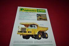 Payhauler 350B Rock Truck Dealer's Brochure MFPA2