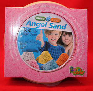 Maro Toys/ Angel Sand/ 0,4 Liter/ Magischer Sand/ 2+/ OVP/ Pink