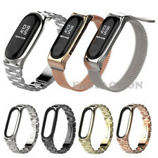 For Xiaomi Mi Band 3 4 Stainless Steel Watch Band Milanese Strap Metal Wristband