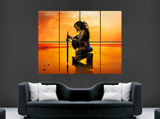 SAMURAI SWORD WARRIOR POSTER WOMEN FANTASY GIANT WALL  PRINT