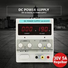 Labor Netzteil 0-30V 5A DC Regelbar Labornetzgerät Trafo Power Supply Netzgerät