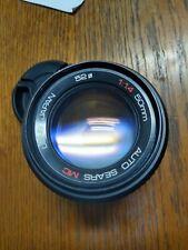 Pentax K Mount Sears Tomioka 50mm F1.4 Fast Prime Camera Lens