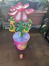 "Vintage ""Trendmaster� Lemon Drop Garden� Musical Flower! With Figure"