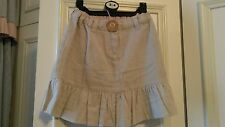 Girls beige mini earth collection skirt BNWT age 6