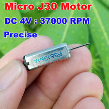 DC 3V 3.7V 37000RPM High Speed 5*7mm Mini J30 Motor For Electronic DV Laptop DIY