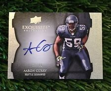 2009 Upper Deck Exquisite Collection Aaron Curry On Card Auto #D 59/99 eBay 1/1
