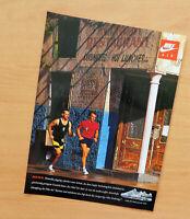 Reklame dsNr.1010) Nike air  / 1990 seltene Werbeanzeige Werbung print ad rare