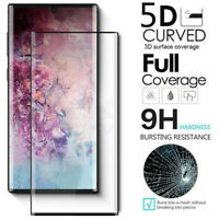 For Samsung Galaxy Note 10 Plus 5G FULL COVER 5D Tempered Glass Screen Protector